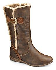 Relife Hi Leg Boots EEE Fit