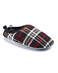 Jacamo Mens Checked Slippers