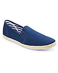 Label J Espadrilles Slip On Standard Fit