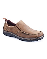 Hush Puppies Mens Slip-on Shoes Dual Fit