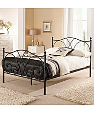 Provencal Kingsize Bed Memory Mattress