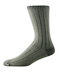Morely Twin Pack Weekend Crew Sock