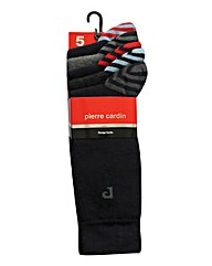 Pack of 5 Pierre Cardin Socks