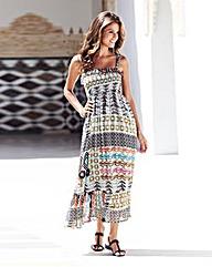 Print Maxi Dress 50in