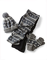 Hat Scarf & Glove Set
