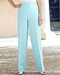 Slimma Tie Detail Pull On Trousers 29in