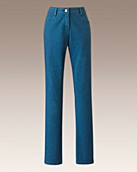 Coloured Slim Leg Jeans Length 30in