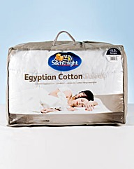 Silentnight Egyptian Cotton Duvet 10.5