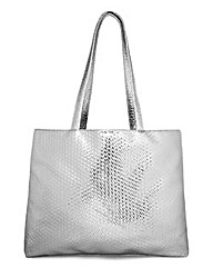 Top to Toe Metallic Bag