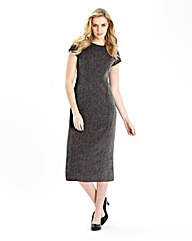 Tweed Mix and Match Tailored Dress 45in