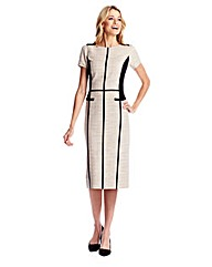 Colour Block Tailored Dress 41in