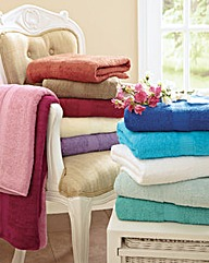 Luxury Jumbo Bath Towels BOGOF