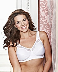Bestform Cotton Comfort White Bra