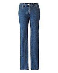 TRULY WOW Slim Leg Jeans Long