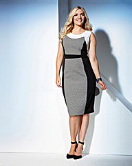 Truly WOW Geo Bodycon Dress