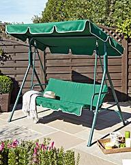 Roma Deluxe 3 Seater Garden Swing