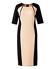 AX Paris Colour Block Bodycon Midi Dress