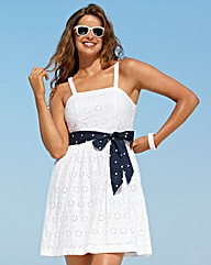 Beach To Beach White Beach Dress