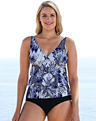 Beach To Beach Ruffle Tankini Set