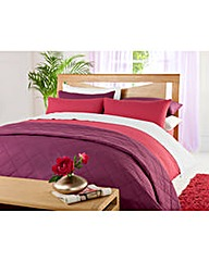 Easy Care Plain Dyed Duvet Cover