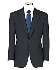 The Label Herringbone Suit Jacket Short