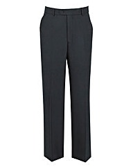 The Label Herringbone Suit Trousers R