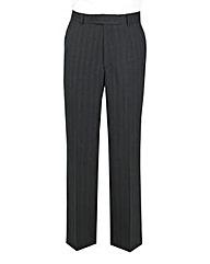 The Label Pinstripe Suit Trouser Long