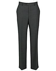 The Label Herringbone Suit Trouser Long