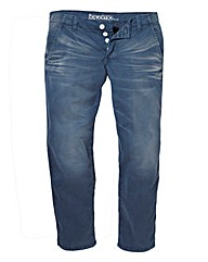 Jacamo Distressed Wash Chinos Regular