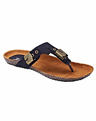 Joe Browns Toe-Post Sandals E Fit