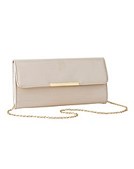 Together Patent Clutch Bag