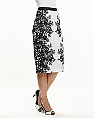 Joanna Hope Print Pencil Skirt