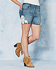 Angel Ribbons Natalya Lace Trim Shorts