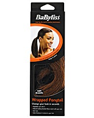 Babyliss Wrapped Ponytail-Light Brunette