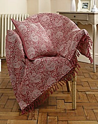 Paisley Cushion Cover BOGOF