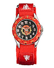 Youth Size Fabric Strap Football Watch