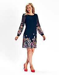 Ava By Mark Heyes Print Tunic Dress