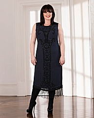 Coleen Nolan Beaded Flapper Dress