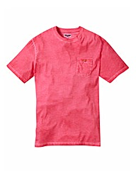 Label J Oil Wash Tshirt Long