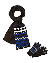 Puma Boys Glove and Scarf Set