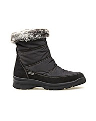 Cromarty Black Suede/Nylon Boot