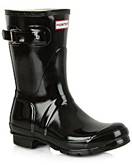 Hunter Original Gloss Short Boot