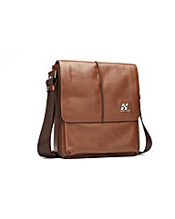 Hautton Leather Messenger Bag