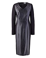 Ava By Mark Heyes PU Leather Look Dress