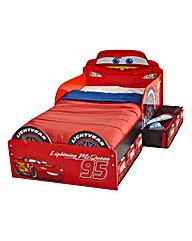 Disney Cars Toddler Bed with Storage