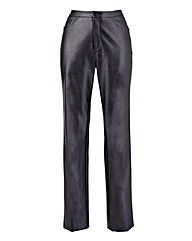 Ava By Mark Heyes Leather Look Trouser