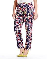 Ava By Mark Heyes Border Print Trouser