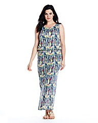 Ava By Mark Heyes Layer Maxi Dress