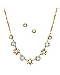 Mood Opalesque and Pearl Flower Disc Set