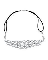 Mood Diamante Crystal Patterned Headband